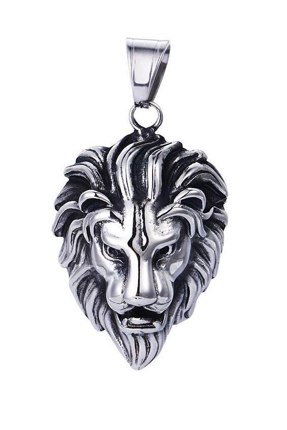 Bo'Bell Gorgeous Lion Roar Nature Pendant/SILVER