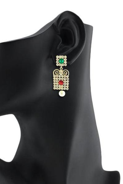 Bo'Bell Exotic Striking Designer Earring/MULTI