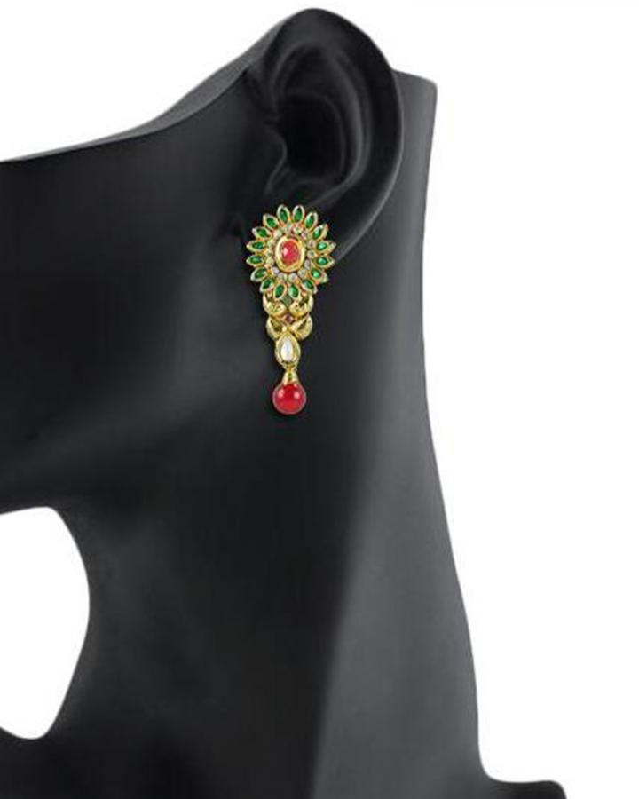 Bo'Bell Bolly Traditional Designer Earirng/MULTI