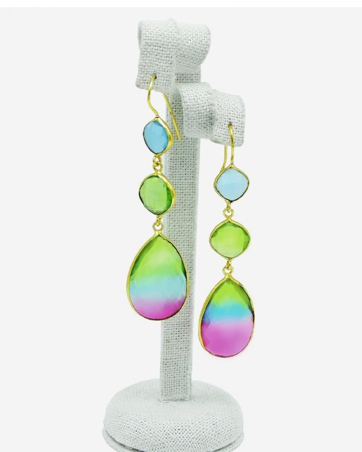 Aurora Drops Earrings