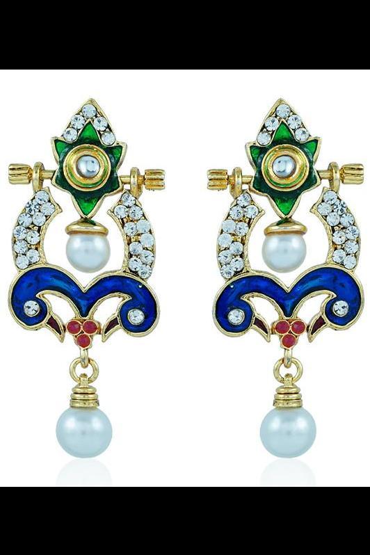 Bo'Bell Flawless Versatile Glamorous Designer Earring/MULTI