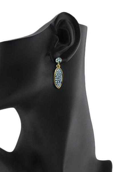 Bo'Bell Classic Teardrop Designer Earring/WHITE