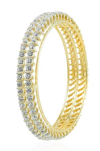 Bo'Bell Fashionale AD Trail Wire Bangle Set/GOLDEN