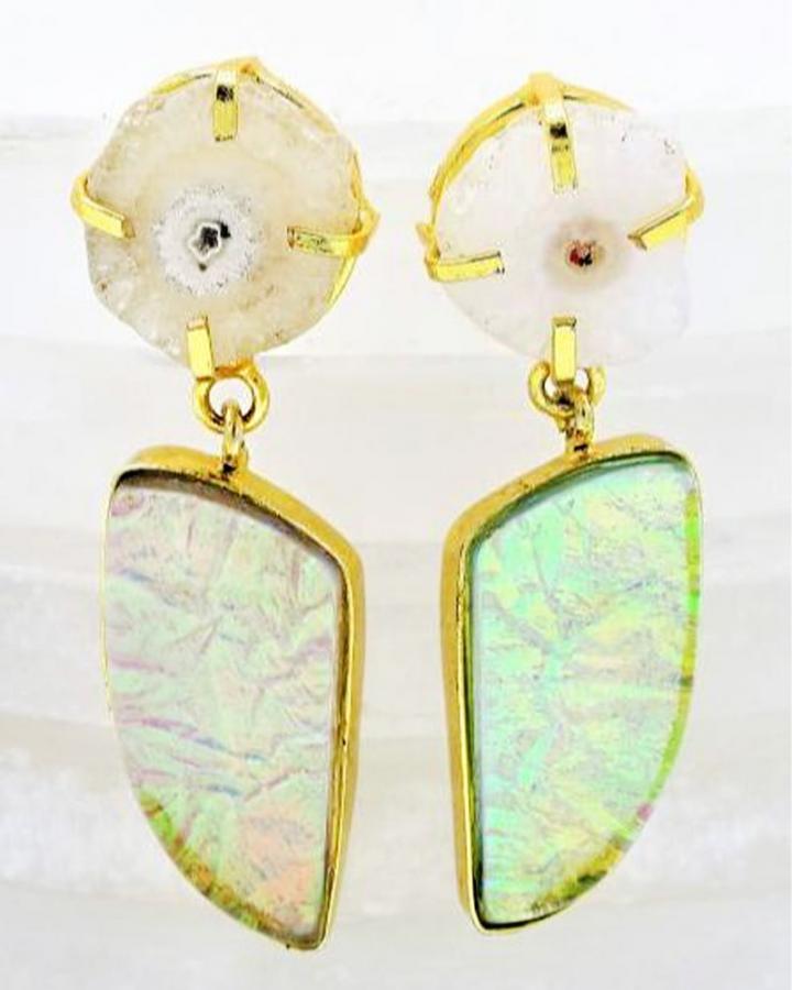 Rainbow Mystic Earrings