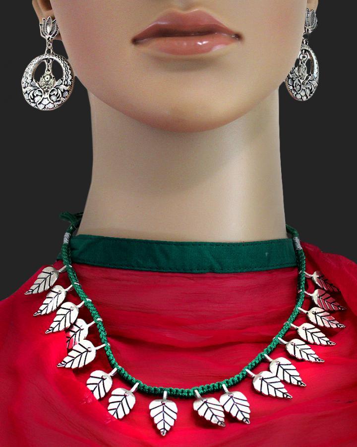 Autumn Boho Necklace Set