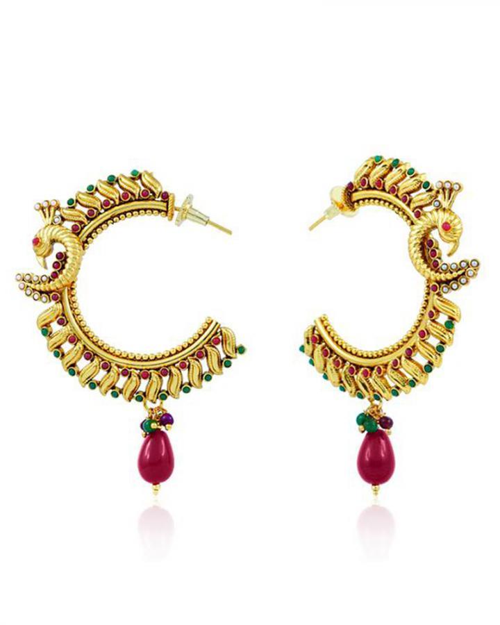 Bo'Bell Exotic Stylish Designer Earring/MULTI