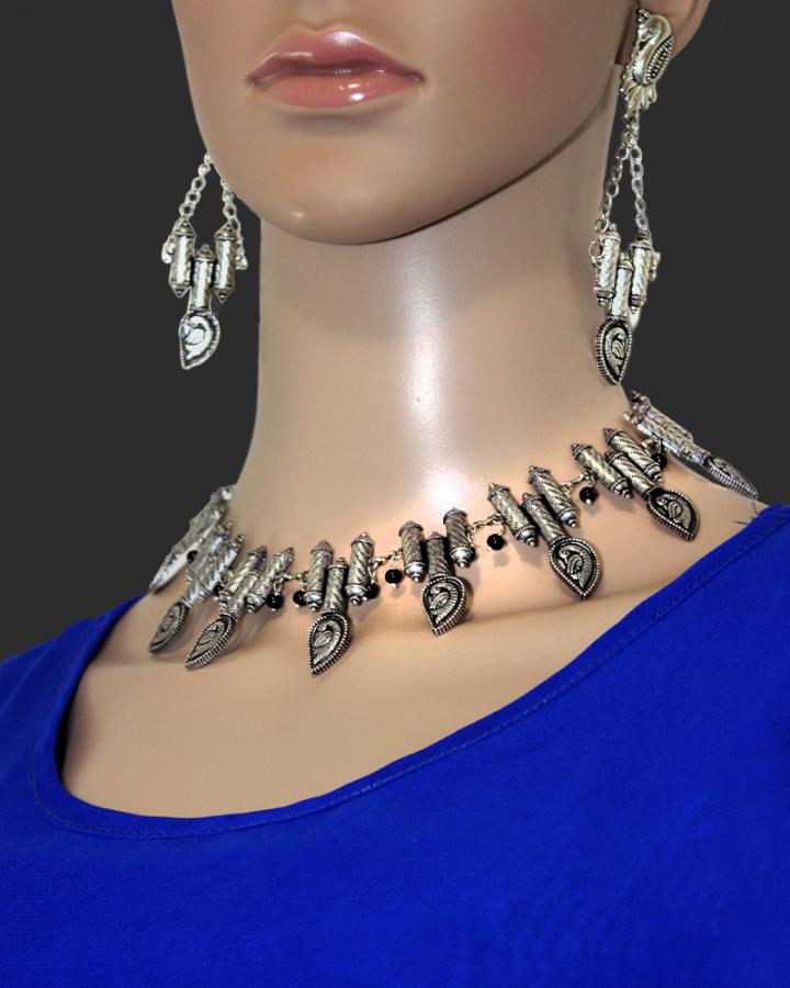 Archie Peacock Necklace Set
