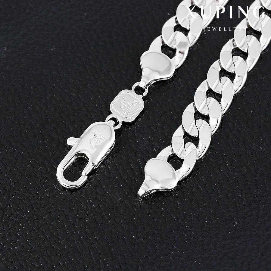 Bo'Bell Trial Unisex Sterling silver Chain/SILVER