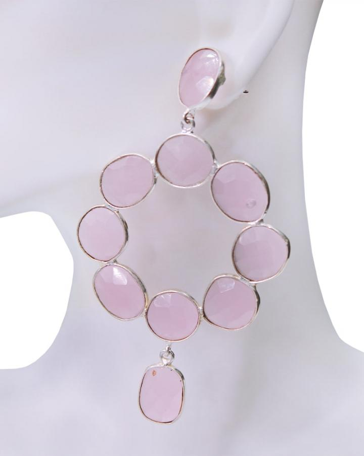 Rose Quartz Loops